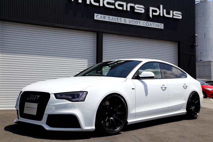 Audi A5/SB & フルカスタム車輛入庫!!