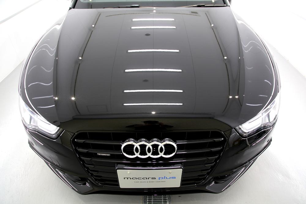 Audi A5/B8.5 クーペ & CERAMIC PRO 9H・RAIN + YAWARAレザーコーティング施工!!