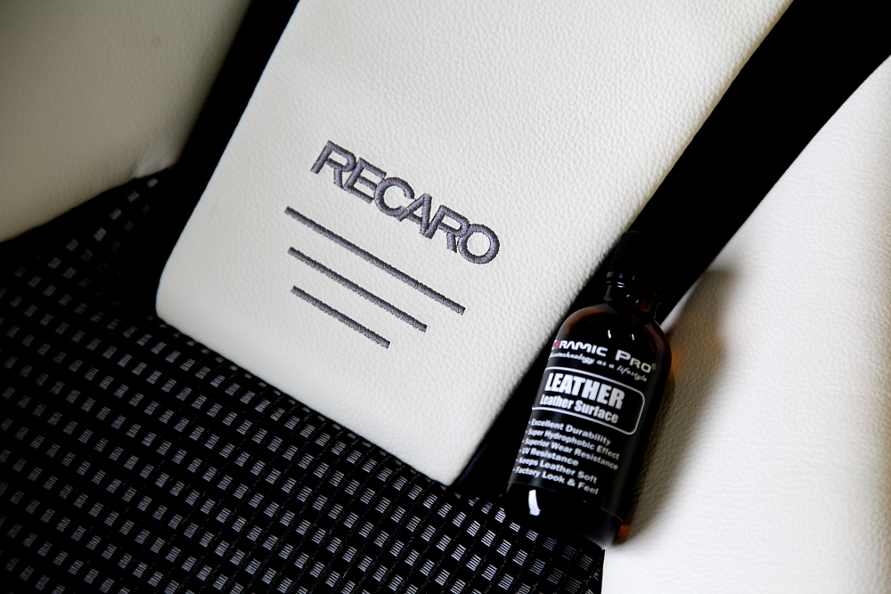 RECARO LX-F IL110H & CERAMIC PRO LEATHER!!