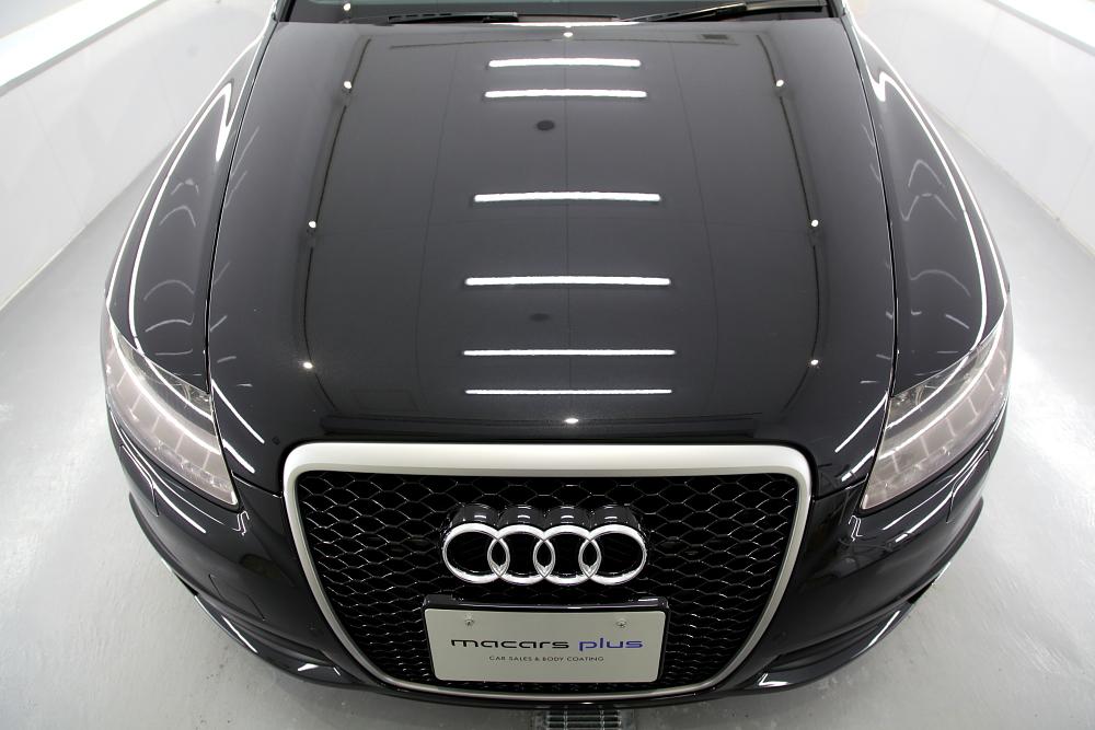 Audi A6/4Fアバント & 磨き・ガラスコーティング施工!!