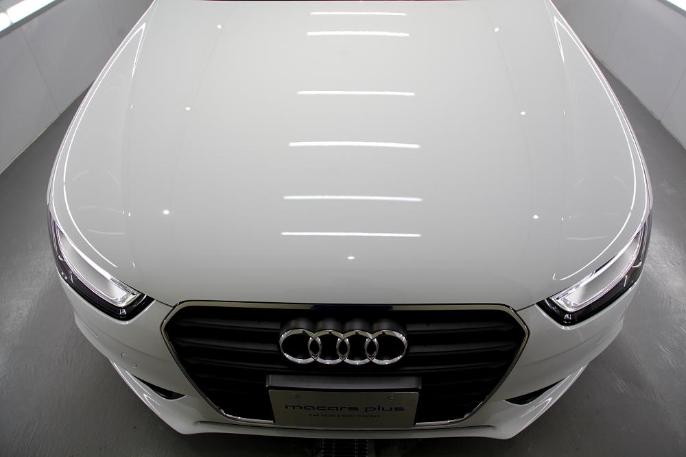 Audi A4/B8.5アバント & 車両販売+磨き・ガラスコーティング施工!!
