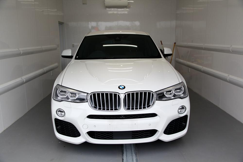 BMW X4/F26 M-Sport & オリジナルガラスコーティング+CERAMIC PRO SPORT+RAIN施工!!