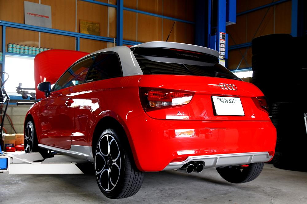 Audi A1 & 祝納車!!