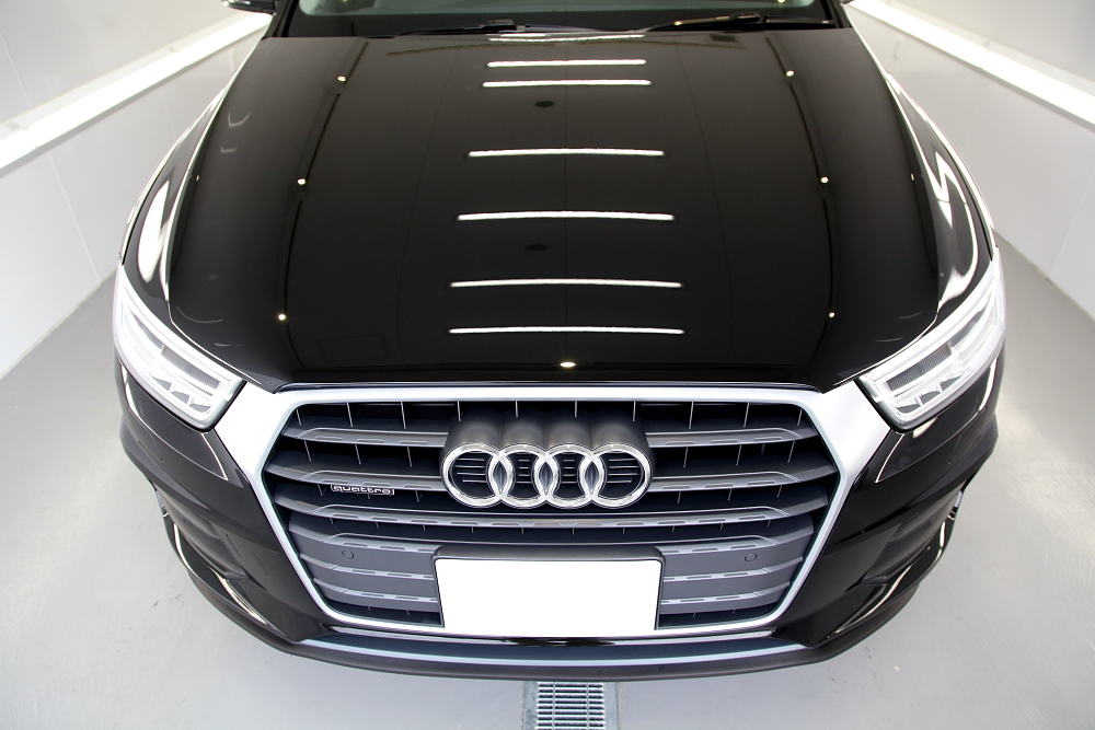 Audi Q3 & CERAMIC PRO 9H+LIGHT再施工!!