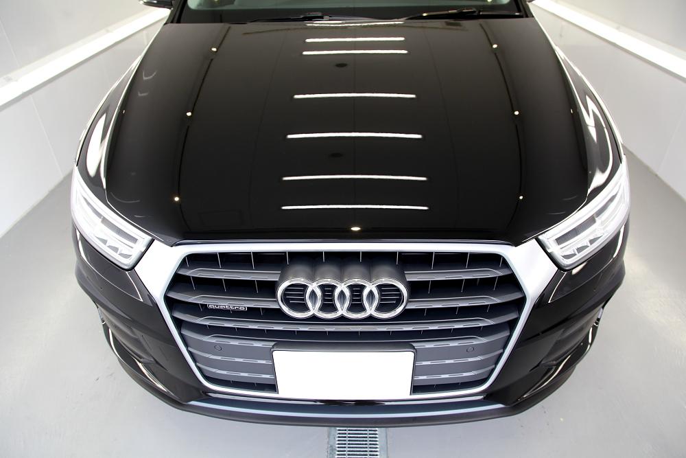 Audi Q3 & CERAMIC PRO 9H+LIGHT再施工!!