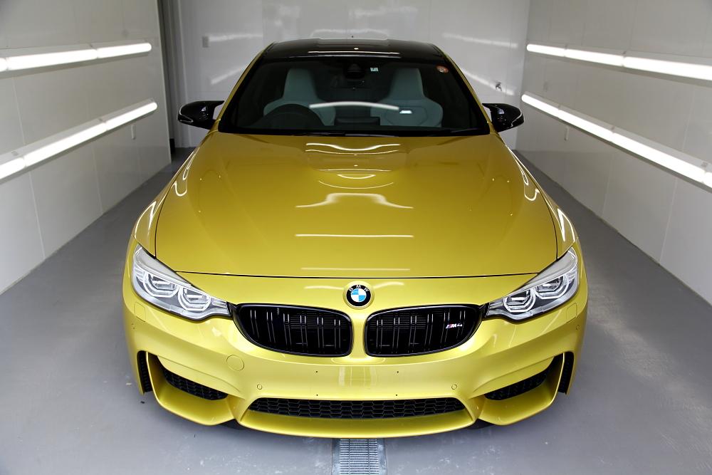 決算キャンペーン & BMW F82/M4 + 鏡面磨き・コーティング施工!!
