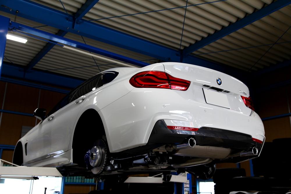 BMW F36/440i GC LCI & ガラスコーティング施工!!