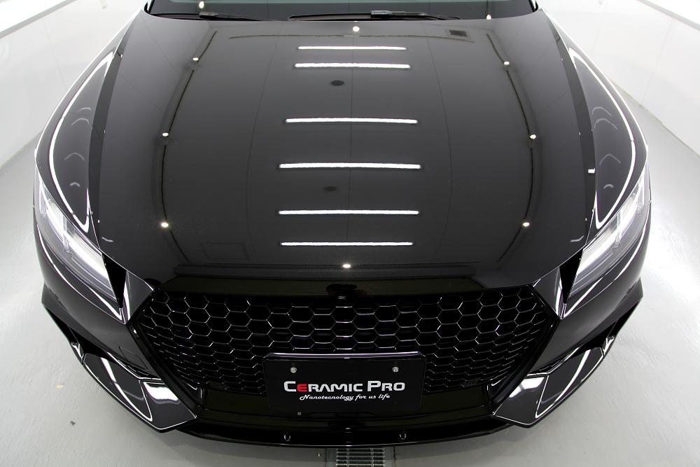 Audi TTRS/8S & 鏡面磨き+CERAMIC PRO 9H+RAIN+TEXTILE+Clearguardコーティング施工!!