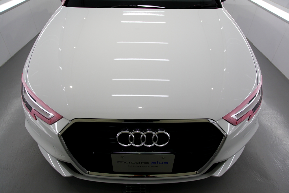 Audi A3/8V S-LINE & 鏡面磨き+コーティング施工!!