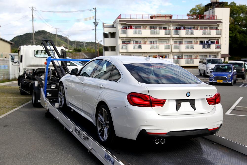 BMW F36/420I GC & 新車入庫+鏡面磨き施工!!