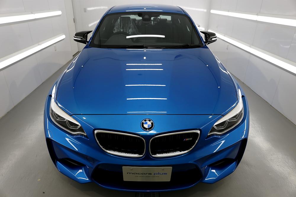 BMW F87/M2 LCI & Clearguardレザーコーティング施工!!