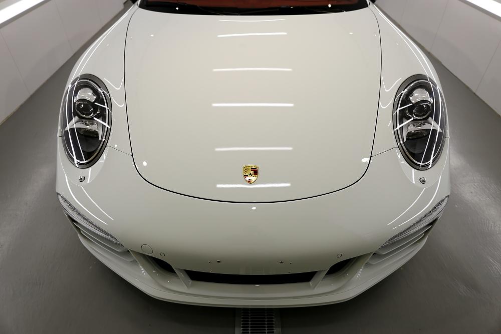 Porsche911/991カレラSカブリオレ & 鏡面磨き+mp+コーティング+CERAMIC PRO TEXTILE!!