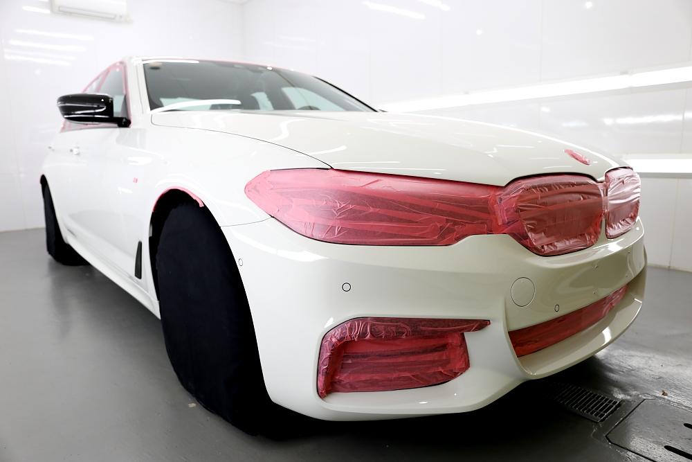 BMW G30/530I & 鏡面磨き+9H 4レイヤー施工+レザーコーティング施工!!