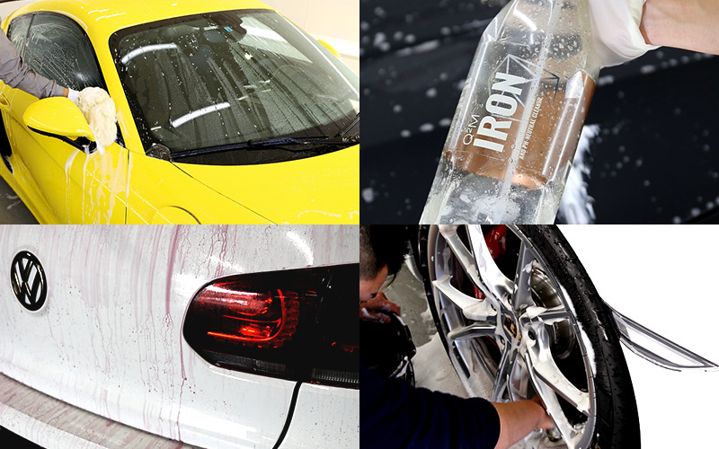 洗車・異物除去