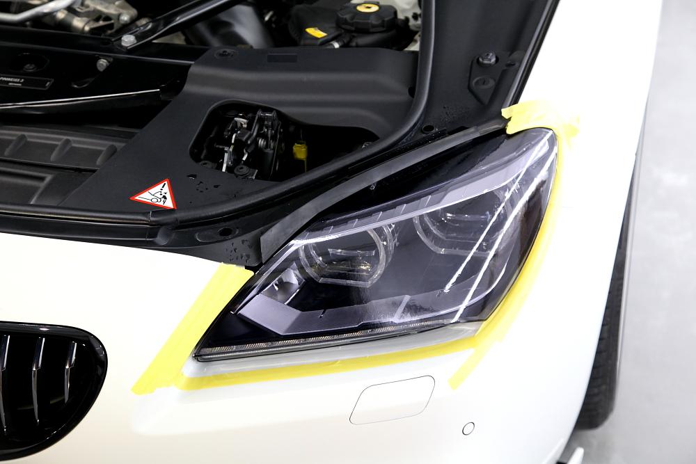 BMW F06/640iグランクーペ & 磨き施工+CERAMIC PRO 9H 4レイヤー施工!!