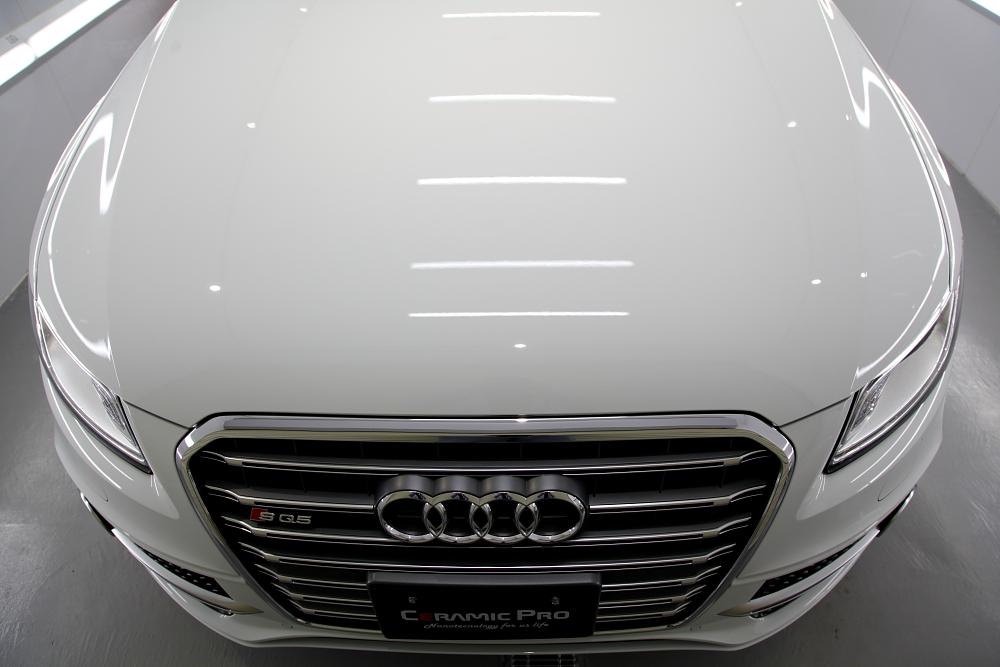 Audi SQ5 & 磨き・CERAMIC PRO 9H 4レイヤー+RAIN+YAWARA+XPEL PPF施工!!