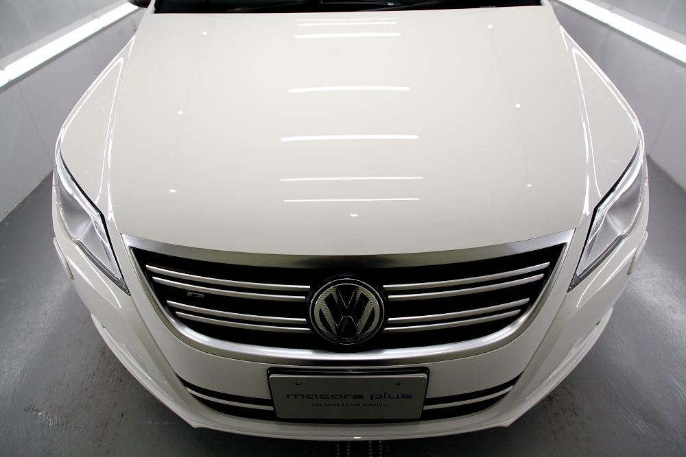 VW TIGUAN & 磨き・ガラスコーティング施工!!