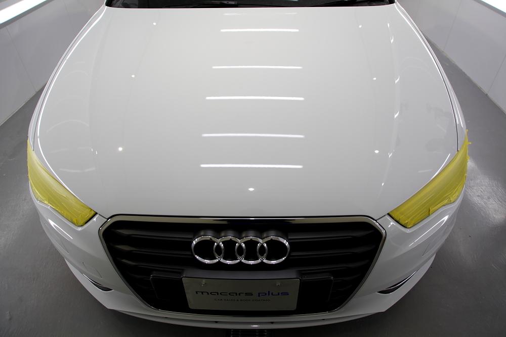 Audi A3/8V & 鏡面磨き・CERAMIC PRO 9H 4レイヤー施工!!