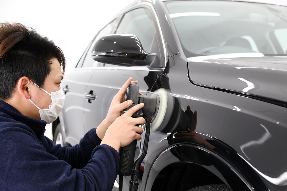 Audi Q3 & CERAMIC PRO 9H 4レイヤー施工!!