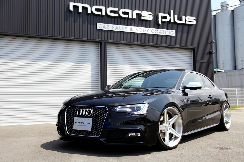 Audi A5/8T 2.0TクーぺS-LINE & 新着入庫車輌!!