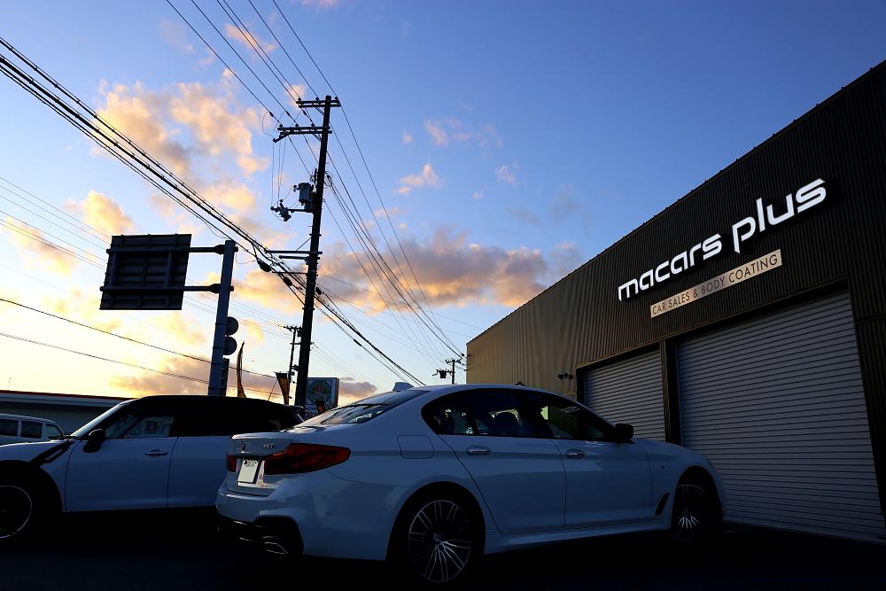 BMW G30/530i & 新車納車+磨き+コーティング施工+入庫!!