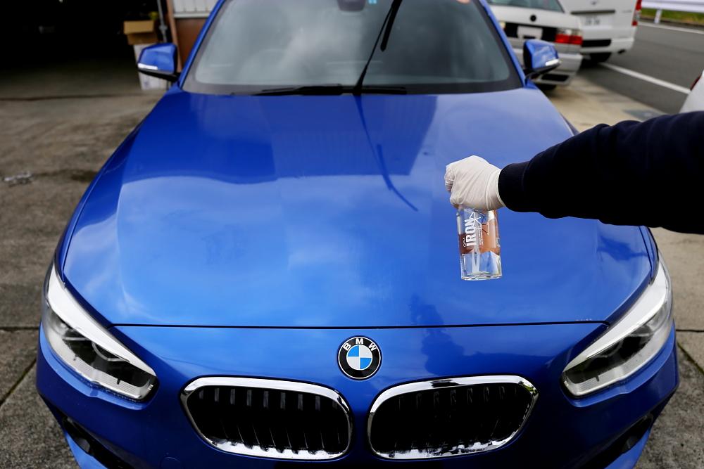 BMW F20/118i M-Sport & 鏡面磨き施工+ガラスコーティング2レイヤー施工!!