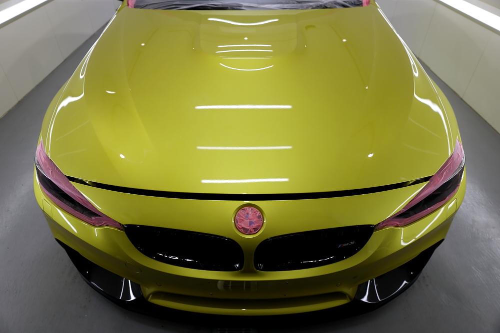 BMW F80/M3 & 磨き+コーティングメンテナンス施工!!