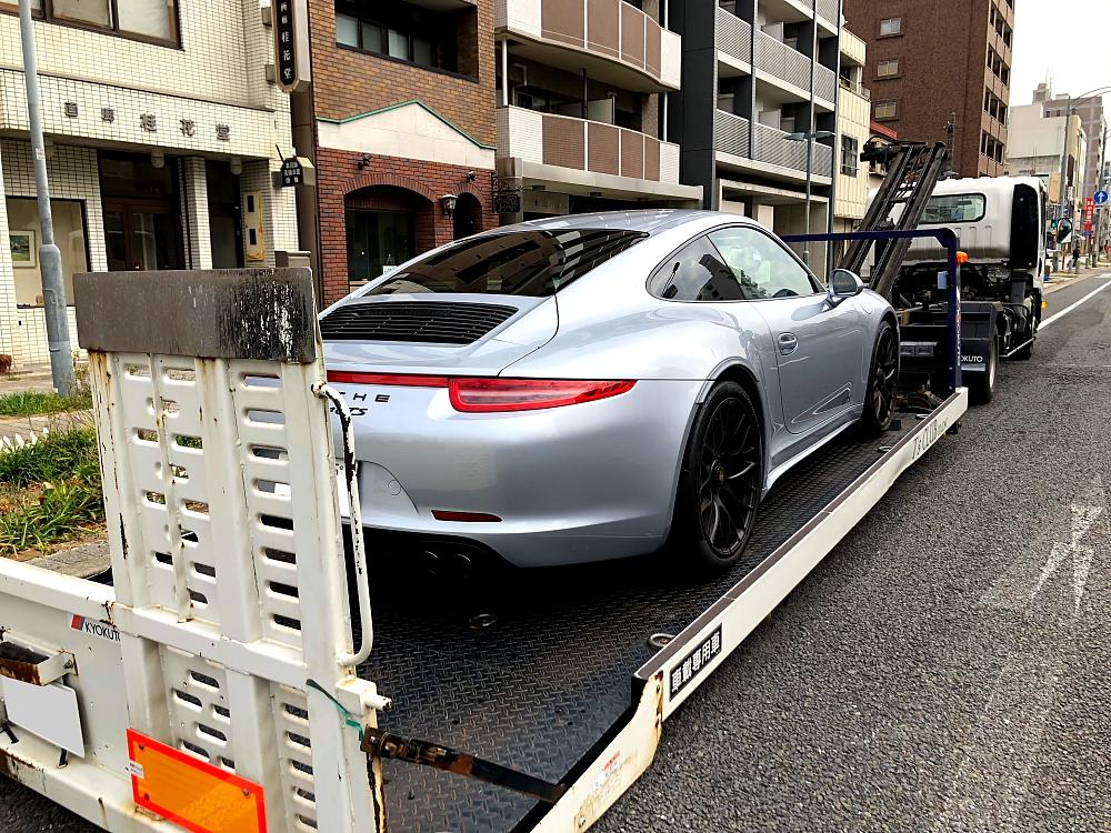 Porsche 911/991 カレラ4 GTSご成約+引き取り!!