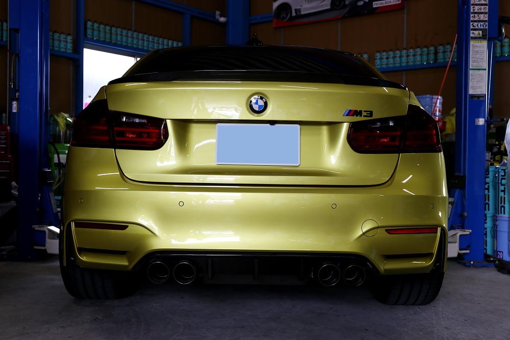 BMW F80/M3 & 車検・メンテナンス・祝納車!!