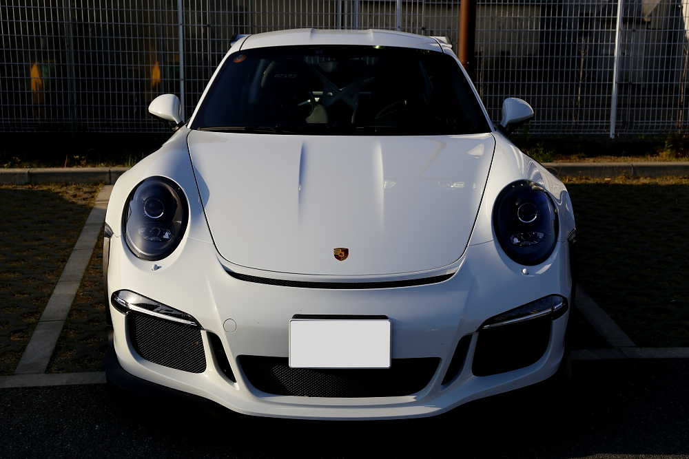 Porsche 991/GT3RS & XPEL PAINT PROTECTION FILM+LAPPING FILM施工!!