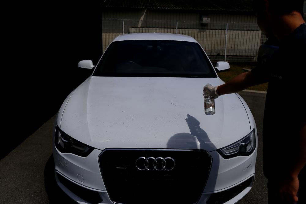 Audi A5/B8.5 SB & 磨き+コーティング施工+祝納車!!