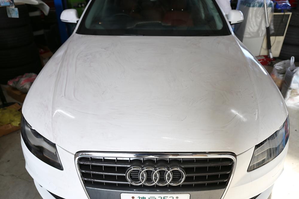 Audi A4/B8 1.8T Avant & 磨き+コーティング施工+新着入庫車輌!!