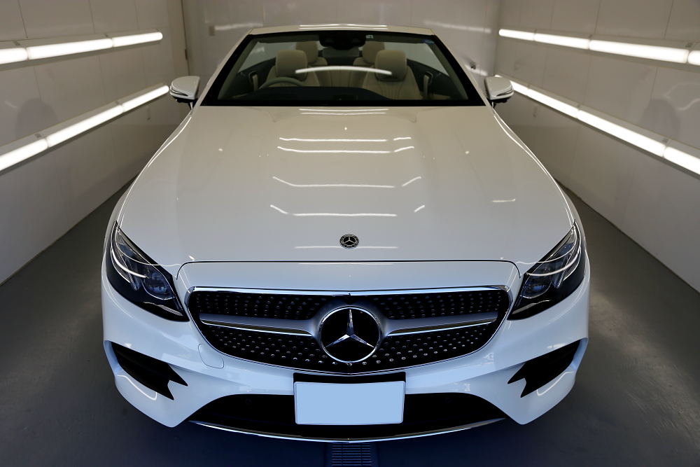 M-BENZ W213/E200 Cabrioⅼet Sports & レザーコーティング+各種コーティング施工!!