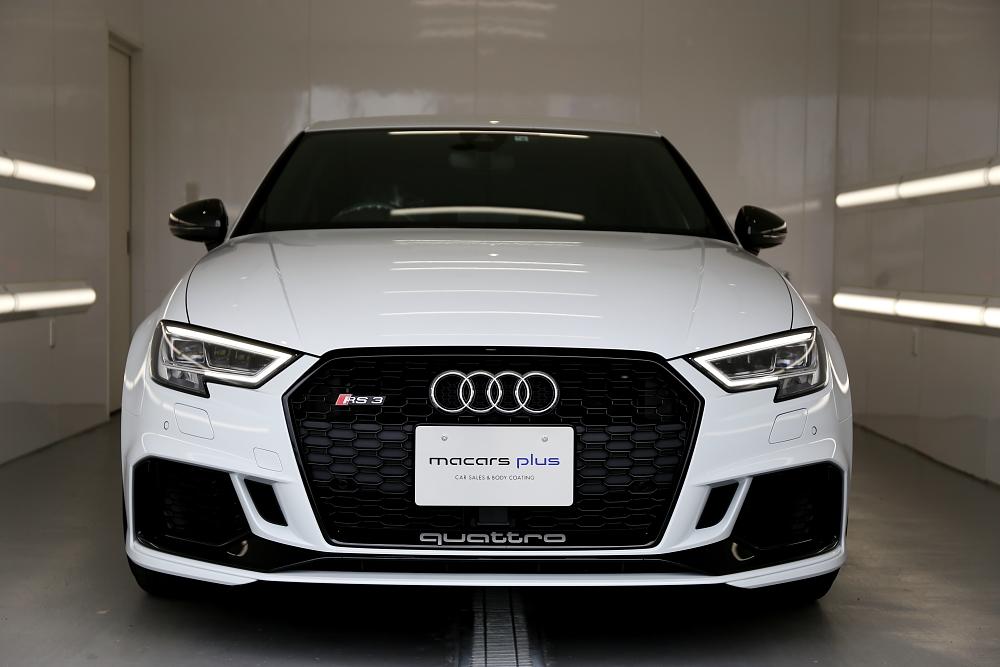 Audi RS3/8V Sedan & 鏡面磨き+9Hコーティング施工!!