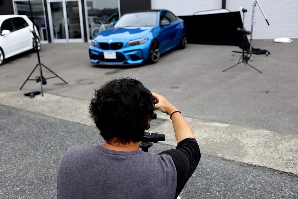 BMW F87/M2 & 新作VOLK撮影!!