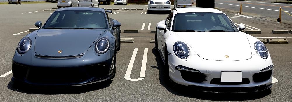 Porsche 991/カレラS & Porsche 991.2/GT3