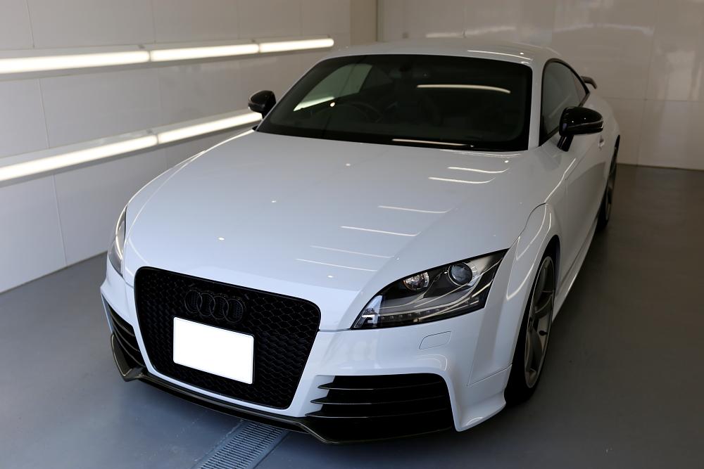 Audi TTRS/8J Coupe & 祝納車!!