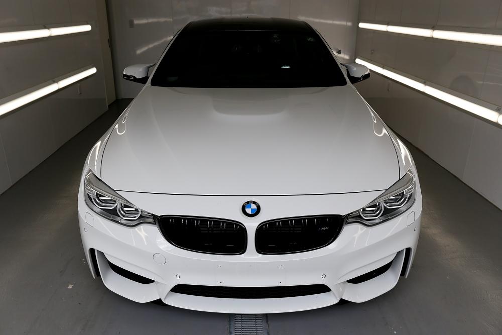 BMW F82/M4 & コーティングボディメンテナンス施工!!