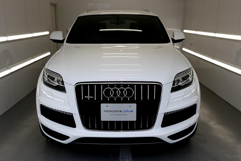 Audi Q7/3.0T S-LINE & 祝納車!!