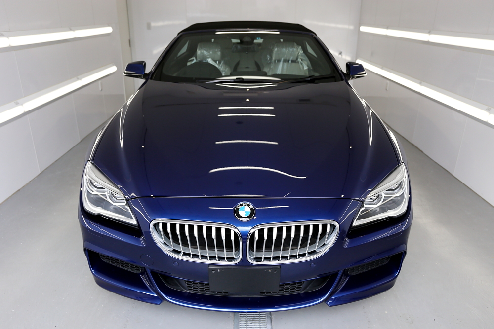 BMW 650iカブリオレ & clearguard 幌専用コーティング施工!!