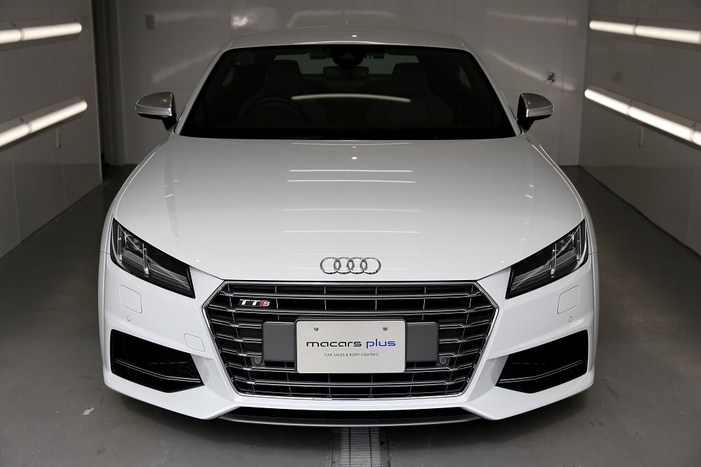 Audi TTS/8S & 磨き・コーティング施工+祝納車!!