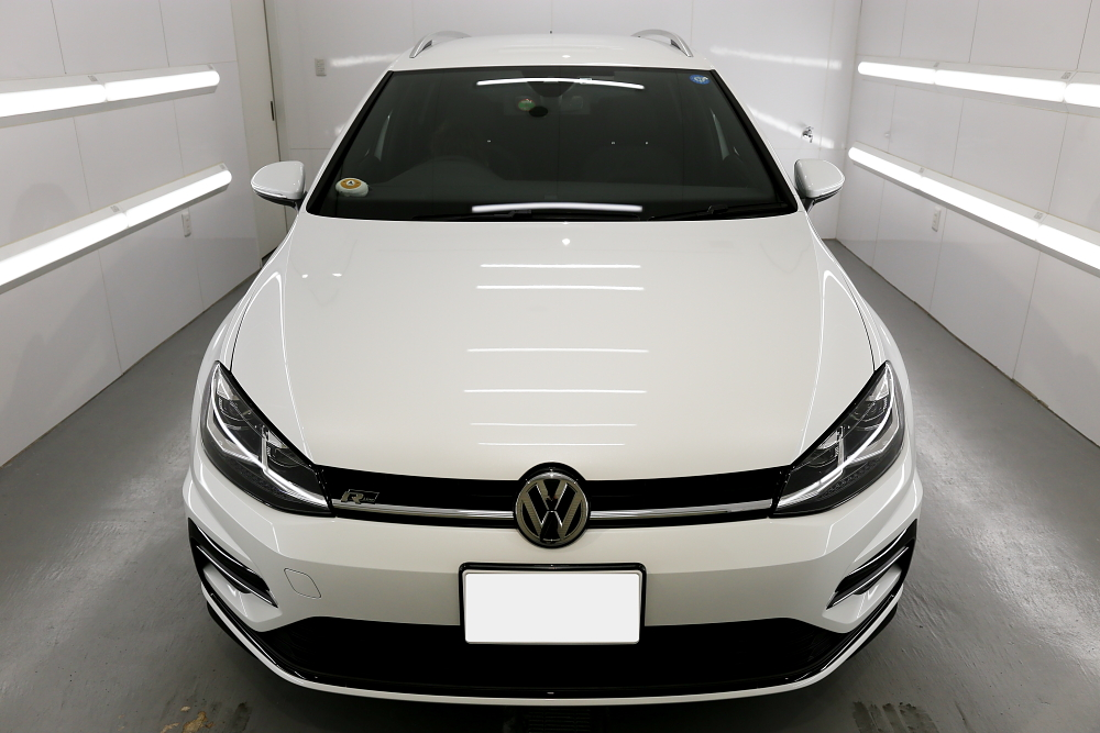VW MK7.5 R-LINE Variant & CERAMIC PRO RAIN施工!!