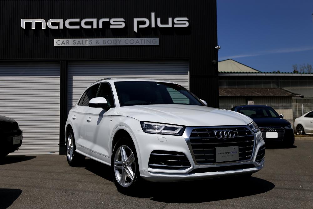 Audi Q5後期 S-LINE & 鏡面磨き+mp+2層コーティング施工+RAIN施工!!