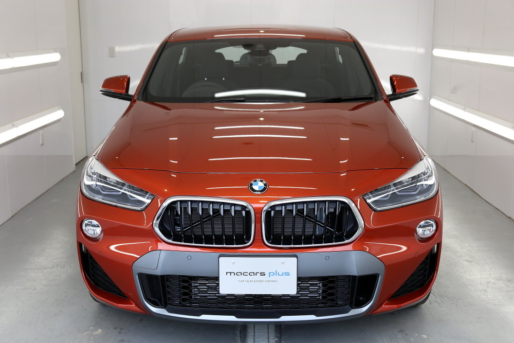 BMW X2 M-SPORT& 磨き・コーティング施工+パネルコーディング施工