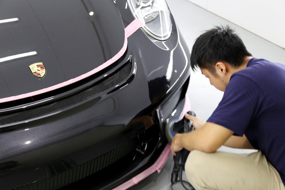 Porsche991/カレラS & 磨き・9Hコーティング施工!!