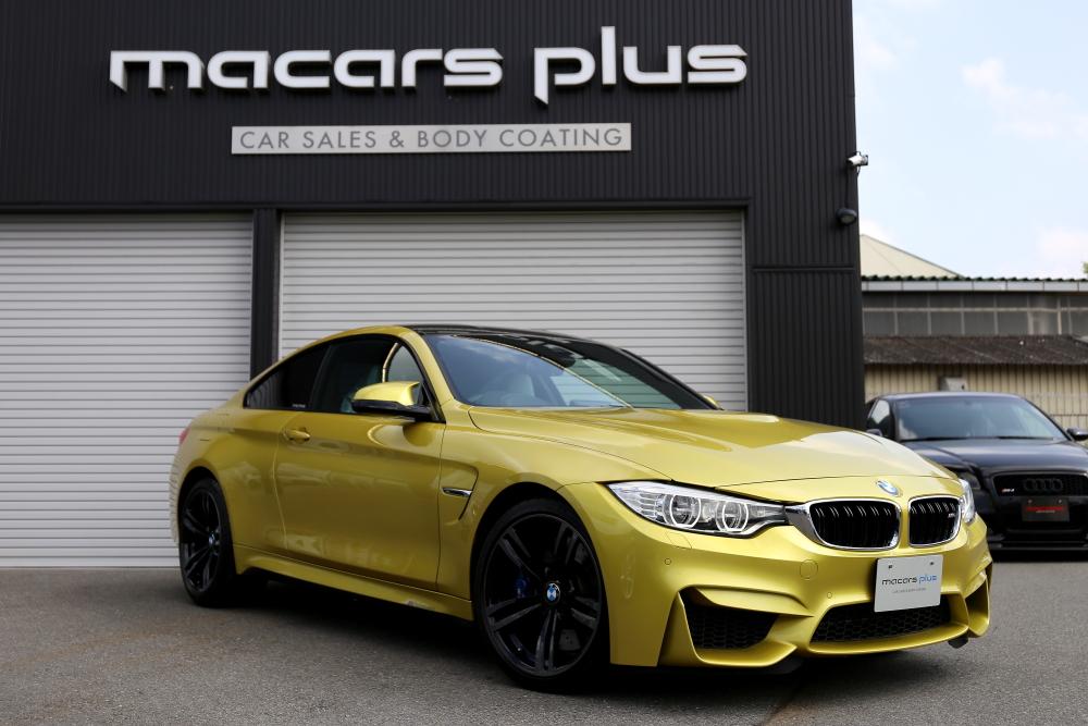 BMW F82/M4 & 内装レザーリペア+レザーコーティング施工+ボディメンテナンス+祝納車!!