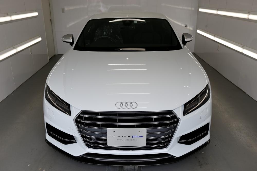 Audi TTS/8S & 天面カーボンラッピング施工+祝納車!!