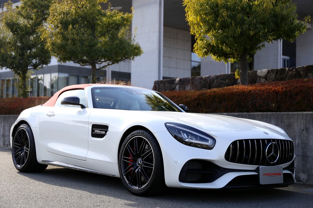AMG GT-C Roadster & Full wrapping Matte black施工!!