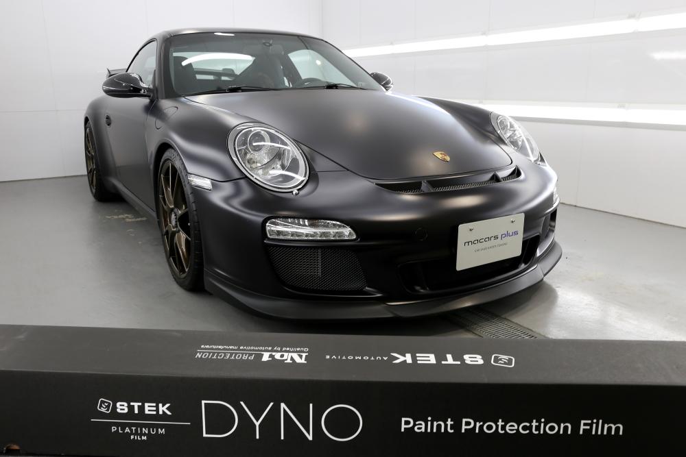 Porsche997.2/GT3 & STEK DYNOmatte フルラッピング!!