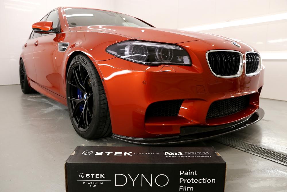 BMW F10/M5 & STEK DYNOshade ヘッドライトプロテクションフィルム施工!!
